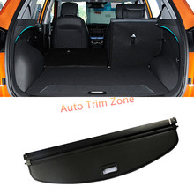 Buy 1PCS Black Rear Racks Trunk Security Shield Cargo Cover Part Hyundai Creta / ix25 2014-2017 for $34.00 in AliExpress store