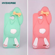 Soft Silicone Case For LG Optimus L90 D410 D405 D415 New Style 3D Cartoon Buck-Toothed Rabbit Pattern Durable Phone Back Cover