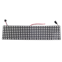 8*32 Pixel 256 Pixels WS2812B 2812 Digital Flexible LED Programmed Panel Individually Addressable 5050 RGB Full Dream Color DC5V