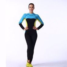 LIFURIOUS Female Wetsuits Breathable Swimwear Swimming Surfing Suit Plus Size Surf Suit Full Body Dive Skin Protect Dry Wetsuit