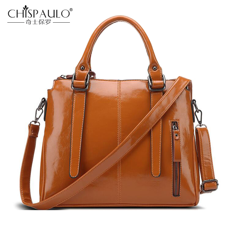 NEW Fashion Ladies Shoulder Bag Luxury Handbag Women Bag Designer Soft Oil Wax PU Leather Zipper Casual Tote Large Crossbody Bag<br><br>Aliexpress