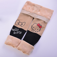90-170cm Spring/autumn Tights Cotton Baby Girls Pantyhose Kids Infant Knitted Collant Tights Soft Infant Clothing Hello Kitty