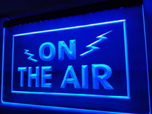LB066- ON THE AIR Radio Recording Studio Light Sign     home decor  crafts