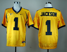 Nike California Golden Bears DeSean Jackson 1 White College Ice Hockey Jerseys M,L,XL,XXL,3XL(China)