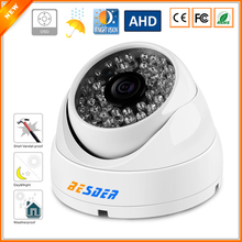 BESDER Anti Vandal Security Surveillance Dome Camera AHDH 1080P 1/2.8'' SONY IMX323 Sensor FULL HD 1080P AHD Camera OSD Cable(China)