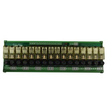 16 Channel 1 SPDT DIN Rail Mount IDEC RJ1S with fuse Interface Relay moudle(China)