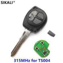 2 buttons Car Remote Key for Suzuki for TS004 for SWIFT SX4 New ALTO VITARA IGNIS JIMNY 315MHz ID46 Chip(China)