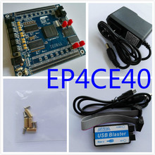 Free Shipping USB Blaster+ALTERA FPGA Cyclone IV  EP4CE40F23C8N Development Board fpga development board fpga altera board