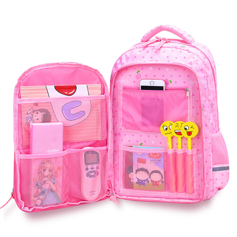 Schoolbags Mochila Orthopaedics Kids Backpack Teenagers Girls Waterproof New  title=