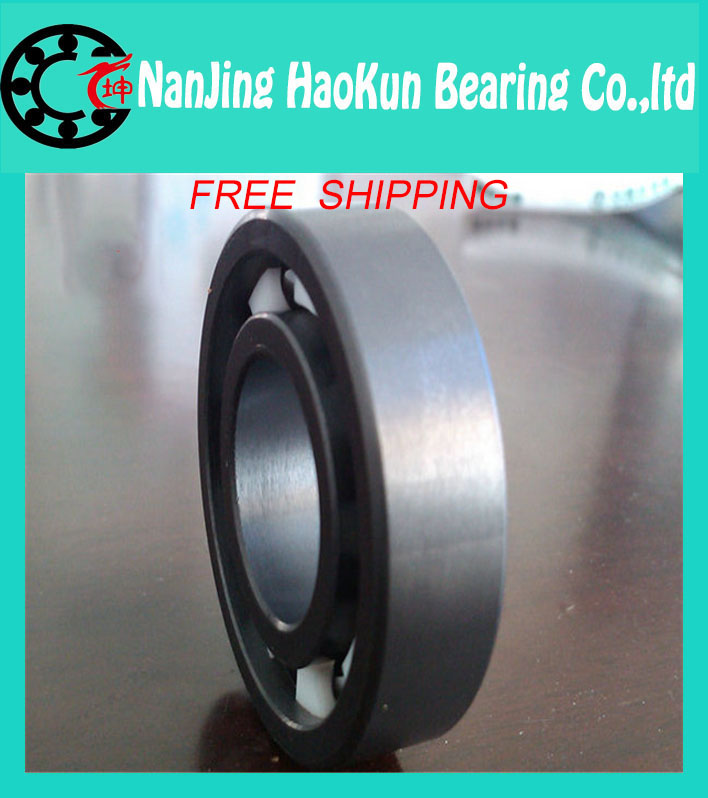 Free shipping 6200-2RS full SI3N4 ceramic deep groove ball bearing 10x30x9mm 6200 2RS<br><br>Aliexpress