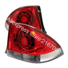 Tail Lights LED fits TOYOTA ALTEZZA fits LEXUS IS200 / IS300 1998 - 2005 Rear Lamps LEFT + RIGHT PAIR - RED(China)