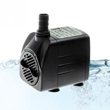 EU Plug Super Water Pump for aquarium, 2/2.5/4/6/8/15/25W aquarium pump for fish tank, water circulating pump to build waterscap(China)