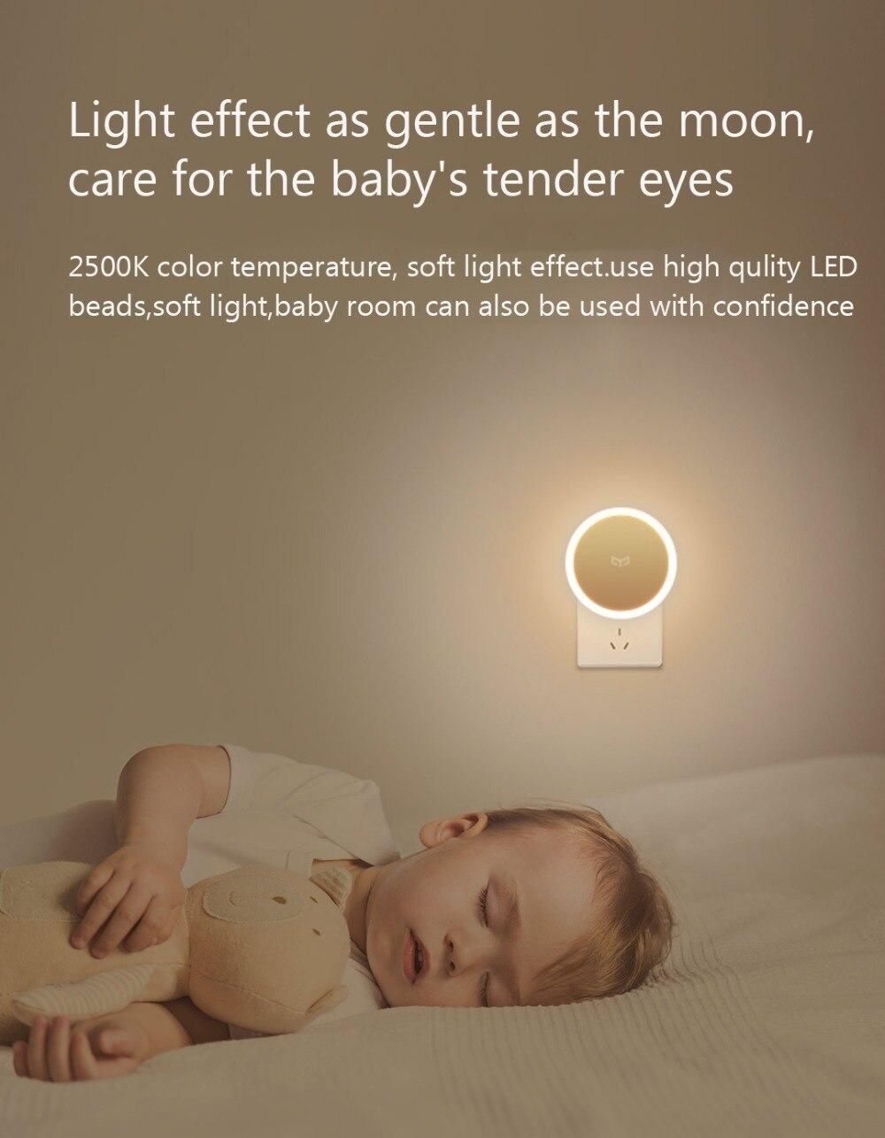 Bundled Sale Xiaomi mijia Yeelight induction night light (plug-in version) YLYD03YL led lamp bed lights for bedroom corridor Wal (13)