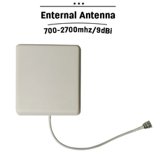 Outdoor Panel Antenna 700mhz-2700hz GSM 3G 4G LTE Mobile Phone Signal Antenna N Type Connector 8dBi External Cellphone Antenna