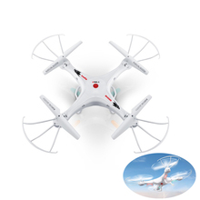 Syma X5A-1 White RC Quadrocopter Helicopter Plane Professional Drone 2.4G 4CH Remote Control Aircraft Dron Mini Quadcopter(China)