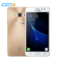 Original Samsung Galaxy J3 pro J3119s 2G 16G 5.0'' Super AMOLED 2600mAh NFC Three Card Slot 4G LTE 2016 fashion Android phone(China)