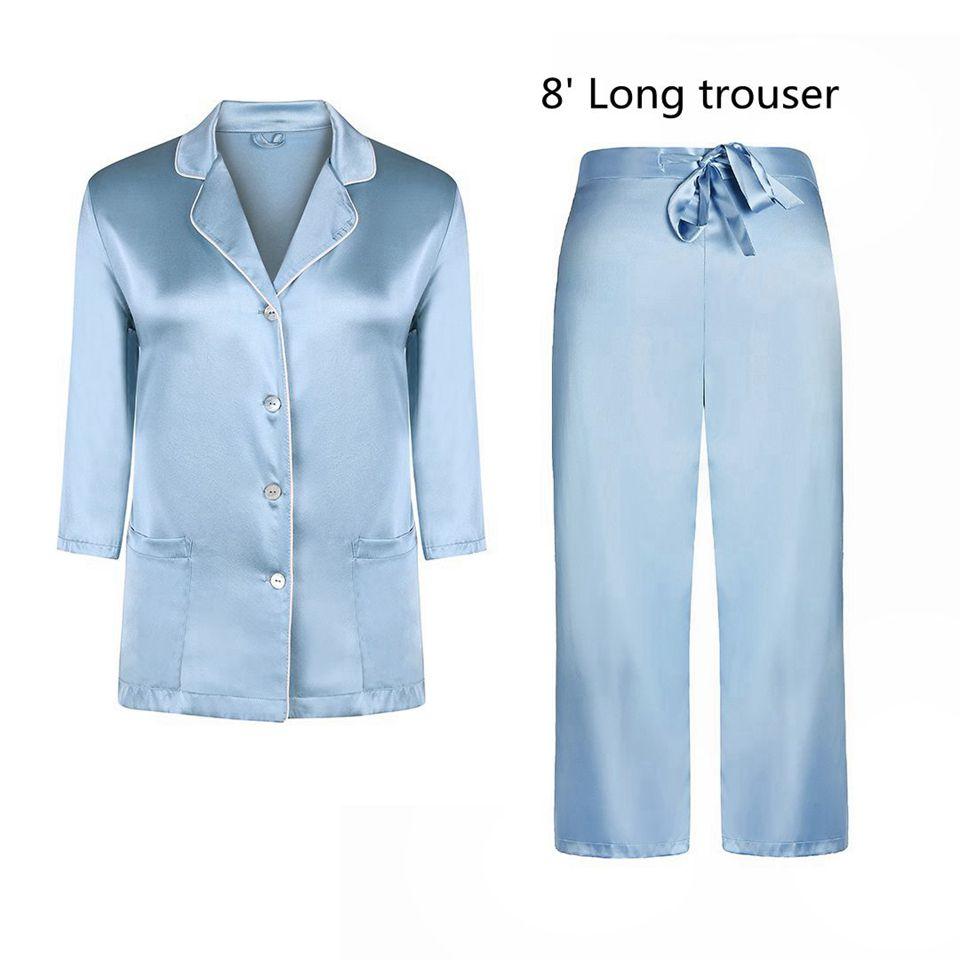 blue 8\' long trouser