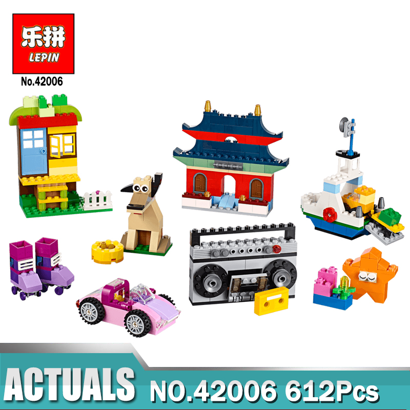 In stock Lepin 42006 Creative Building Set Lepin Building Blocks Bricks Funny Toys for Children Compatible Legoing 10702<br>