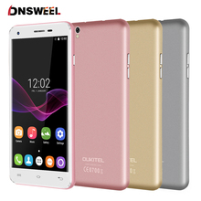 "Original Oukitel U7 Max 5.5"" HD SmartPhone MT6580A Quad Core 3G cell phone 1G+8G 13MP Dual Camera Android 6.0 GPS mobile phone(China)"
