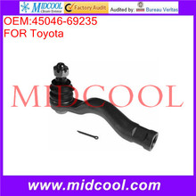 High Quality Auto Parts Front Axle Right Steering Tie Rod End OEM:45046-69235