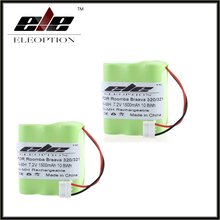 2 pcs Eleoption Rechargeable Vacuum Cleaner Battery for iRobot Braava 320 321 & Mint 4200 4205 Floor Cleaner Robot 4408927(China)