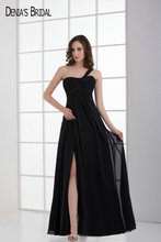 2017 Black Mother Dresses Floor Length Sweetheart Neckline Beaded A-line Side Split For Mon Of The Bride Vestido De Festa(China)