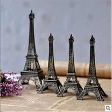 Factory direct sales model of the Eiffel Tower in Paris, France metal furnishing articles package mail desktop home decoration