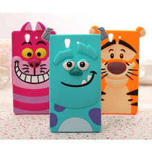 Buy candy 3D Cartoon Monsters University Sully Tiger Silicone rubber lovely Soft Cover Case Sony Xperia Z L36H C6602 C6603 Skin for $3.59 in AliExpress store