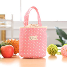 New arrivals XINNIU brand summer   fashion kid women cute canvas Heat dissipation lunch bag lunch box 2017 free shipping