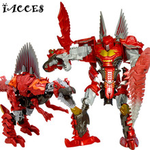Big Size Anime  4 Toys Action Figures movie Model Children Classic Dragon Deformation Robot Toy Boy Christmas Gift Brinquedos