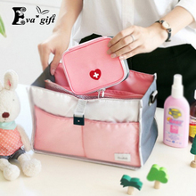Small medical storage bag first aid package home pills bag Portable travel medical box organize small objects(China)