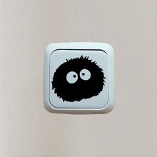 Vinyl Decal Sticker Totoro Ghibli Cartoon Switch Sticker Bedroom Decor 3SS0008
