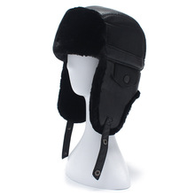 2017 New arrival Men's Winter Fur hats Ushanka Outdoor Earflap Keep Warm Snow Caps Women Cap Face Mask Man's Cycling Hat Ski Hat
