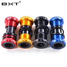 Buy 2017 BXT new Bicycle Bottom Bracket 68/73mm MTB Road Bike Axis BB Cycling Aluminum Alloy Waterproof BSA Crank Set Axis Parts for $15.20 in AliExpress store