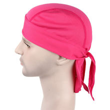 NEW BANDANA DOO RAG breathable mesh  Do Du  rag Unisex Fitted Solid Tied head wrap  Motorcycle Skull Cap Men