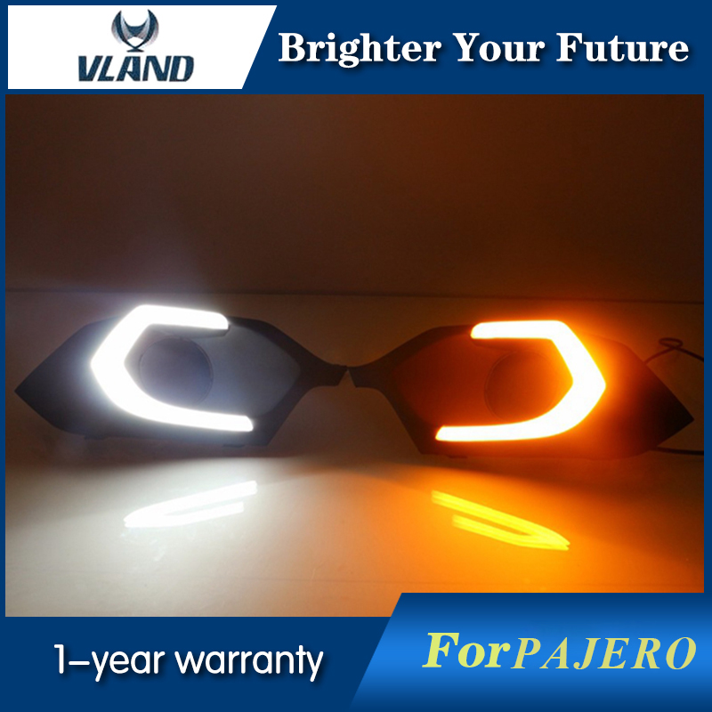 2Pcs LED Daytime Running Lights DRL Fit For Mitsub...