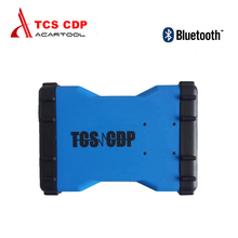 2017 TCS CDP Pro + with Bluetooth and 2014.R3 No keygen On CD cdp 3 in 1 car Truck Generic Diagnostic tool tcs cdp Free Shipping