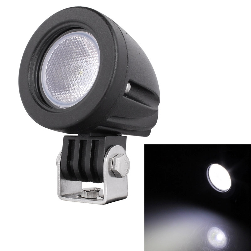 2017 Auto Access Round Shape 10W 910LM XM-L T6 LED 60 Degrees Flood Beam Waterproof IP67 Work Light DC 10-30V Free Shipping<br><br>Aliexpress