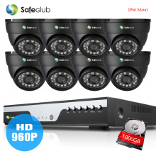 8Channel hdmi 1080p DVR with AHD 1.3Mp 2000TVL 960p Security camera System 8ch video surveillance kit hdmi 1080p usb wifi alarm