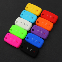 silicone car key cover case for Volkswagen VW polo passat b5 golf4 5 6 jetta tiguan Golf CrossFox Plus Eos Scirocco Beetle
