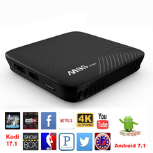 Buy Mecool M8S PRO Android 7.1 Smart TV Box 3GB 32GB Amlogic S912 Octa Core WIFI HD 4K Kodi 17.1 Media player Android TV Set Top Box for $83.63 in AliExpress store