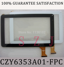 "New 9"" tablet case for Ployer MOMO9 glass touch screen panel digitizer: CZY6366A01-FPC White: CZY6353A01-FPC Free shipping(China)"