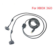 2M 2 in1  Long USB Charging Charger + Play Cable Lead for Xbox 360 Controller Pad
