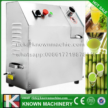 The best selling electric stainless steel industrial 3 rollers fruit sugar cane juice extractor machine sugar cane mill