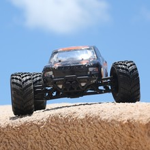 Hot Sale electric Rc Car toy HBX-12813 1/12 full Proportion 2.4Gh 4WD drive Remote Control Off-road monster Truck Ready to go(China)