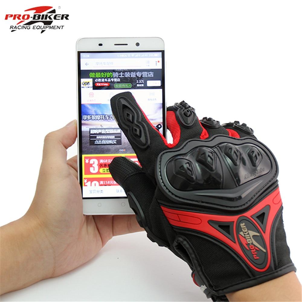 Outdoor Sports Pro Biker Motorcycle Gloves Full Finger Moto Motorbike Motocross Protective Gear Guantes Racing Glove For Men
