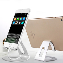 KISSCASE Aluminum Alloy Phone Stand Holder For iPhone 6 7 6S Plus Samsung S8 Plus All Smart Phone Tablets Desk Universal Holder