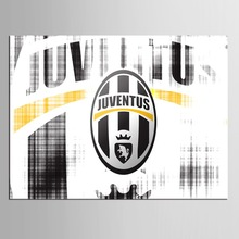 1 panel Juventus Football Funs Modern Home Wall Decor Painting Canvas Art HD Print Painting Canvas Wall Picture For Home Decor