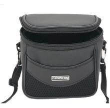 Black Camera Bag PU leather camera case with strap for Canon Powershot SX100 SX40 HS SX30 SX20 SX10 SX1 SX130 IS G7