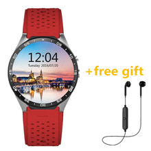NEW Kw88 Android 5.1 Smart Watch 512MB + 4GB Bluetooth 4.0 WIFI 3G Smart Watches Phone Wristwatch Support Google Voice GPS Map(China)